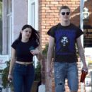 Ariel Winter with Levi Meaden out in Studio City