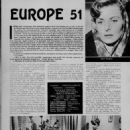 The Greatest Love - Amor Film Magazine Pictorial [France] (15 May 1953)