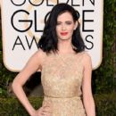 Eva Green at The 73rd Golden Globe Awards - Arrivals (2016) - 399 x 600