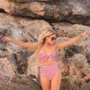 Hofit Golan in Bikini on the beach in Tulum - 454 x 681