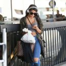 Yovanna Ventura in Ripped Jeans out in LA