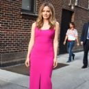 Alicia Silverstone – Seen At Late Show with Stephen Colbert in New York - 454 x 663