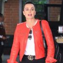 Kyle Richards – Out for lunch in Beverly Hills - 454 x 681