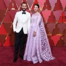 Jamie Dornan and Amelia Warner At The 89th Annual Academy Awards  - Arrivals (2017) - 454 x 303