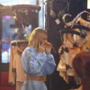 Hailey Baldwin – Shopping at store Agen Provocateur in Hollywood