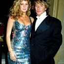 Rod Stewart & Rachel Hunter