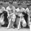 Joe Gordon, Ted Williams, Bobby Doerr & Bill Dickey