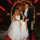 Suzanne and Sebastian Bach's wedding day