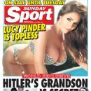 Lucy Pinder - Sunday Sport Magazine Cover [United Kingdom] (28 September 2014)