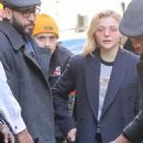 Chloe Moretz and Brooklyn Beckham out in NYC - 454 x 565
