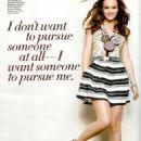 Leighton Meester Glamour Italy February 2011/Seventeen Magazine February 2011