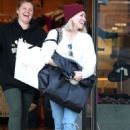 Hilary Duff – Christmas Shopping in Los Angeles