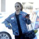 Brenda Song–Shopping at Trader Joe's in Los Angeles - 454 x 562