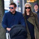Bradley Cooper and Irina Shayk in New York City - 454 x 476