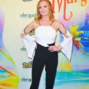 Marg Helgenberger – Opening night for Escape to Margaritaville in New York - 454 x 633