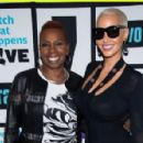 Amber Rose on Watch What Happens: Live in New York City - October 25, 2015 - 454 x 296