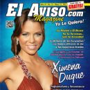 Ximena Duque - El Aviso Magazine Cover [United States] (21 May 2011)