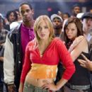 (Left to right) Rivals on the dance floor include Thomas (Damon Wayans, Jr.) and Megan (Shoshana Bush) and Nora (Christina Murphy) and Tyler (Ross Thomas) in the comic spoof 'Dance Flick.' Photo Credit: Glen Wilson. Copyright ©2009 by PARAMOUNT PI