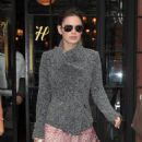Rachel Bilson: out of her hotel in New York City