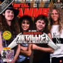 Metallica - Metal&Hammer Magazine Cover [Germany] (February 2016)