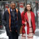 Keira Knightley film scenes for the upcoming movie 'Collateral Beauty' in New York City, New York on April 1, 2016 - 454 x 568