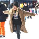 Tallia Storm – Ice skating in New York City - 454 x 567