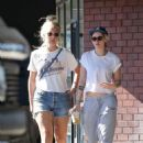 Kristen Stewart and Dylan Meyer – Go to a Karate class in Los Angeles