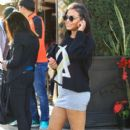 Christina Milian  out to lunch with friends at Il Pastaio in Beverly Hills, California on January 11, 2017 - 399 x 600