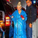 Christina Aguilera – Arrives at Radio City Music Hall in New York City