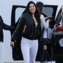 Michelle Rodriguez in White Jeans – Out in West Hollywood