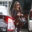 Jessica Biel – Out and about in Studio City