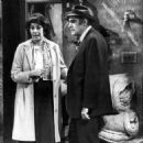 Florence Stanley With Abe Vigoda On Fish