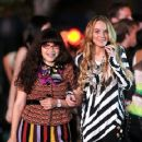 """Lindsay Lohan on Location for """"Ugly Betty"""""""