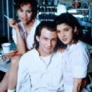 Christian Slater as Adam, Marisa Tomei as Caroline and Rosie Perez as Cindy in Untamed Heart  (1993)