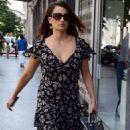 Penelope Cruz visiting her sister-in-law in Madrid (July 25)