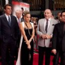 (L-r) CHRIS NOTH as Mr. Big, TIM GUNN (in back) as himself, SARAH JESSICA PARKER as Carrie Bradshaw, WILLIE GARSON as Stanford Blatch and MARIO CANTONE as Anthony Marentino in New Line Cinema's comedy 'SEX AND THE CITY 2,' a Warner Bros. Pictu