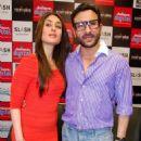 kareena kapoor and saif ali khan  on agent vinod promotion