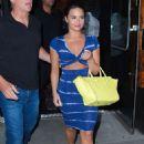 Demi Lovato Arrives At Zuma Restaurant In Ny