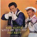 Annie Get Your Gun - Starring John Raitt and Mary Martin - 454 x 511