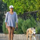 Regina King – Takes her dog out for a walk in Los Angeles - 454 x 588