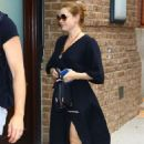 Amy Adams – Returning to the Greenwich Hotel in New York