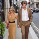 Annabelle Wallis on date night in London - 454 x 680