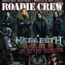Megadeth - Roadie Crew Magazine Cover [Brazil] (February 2016)