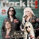 Joey Tempest - Rock It Magazine Cover [Germany] (April 2016)
