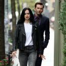 Krysten Ritter – Filming 'Jessica Jones' in New York - 454 x 810