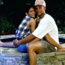 David Justice and Halle Berry - 454 x 373