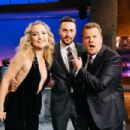 Kate Hudson and Aaron Taylor-Johnson - The Late Late Show with James Corden (January 2017)
