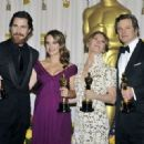 Christian Bale, Natalie Portman, Colin Firth and Melissa Leo At The 83rd Academy Awards (2011) - 454 x 320