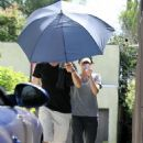 Megan Fox Makes Her Way Out Of A Private Gym In LA - May 24, 2010
