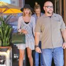 Taylor Swift At The Honor Bar In Beverly Hills